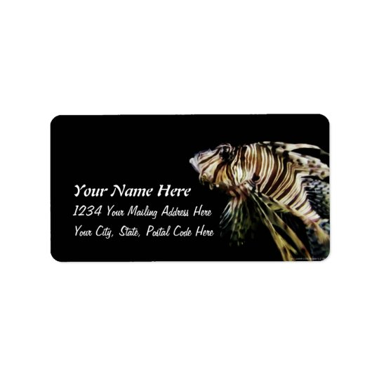 The Lionfish Label