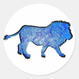 THE LIONS PRIDE CLASSIC ROUND STICKER