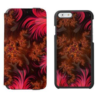 The Liquid Lava Heart of a Fractal Volcano Incipio Watson™ iPhone 6 Wallet Case
