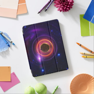 The Little Astronaut on a Tiny Fractal Planet iPad Pro Cover