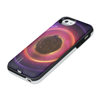 The Little Astronaut on a Tiny Fractal Planet iPhone SE/5/5s Battery Case