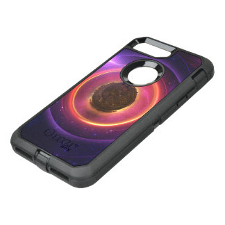 The Little Astronaut on a Tiny Fractal Planet OtterBox Defender iPhone 8 Plus/7 Plus Case