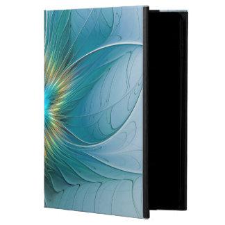 The little Beauty Modern Blue Gold Fractal Flower Powis iPad Air 2 Case