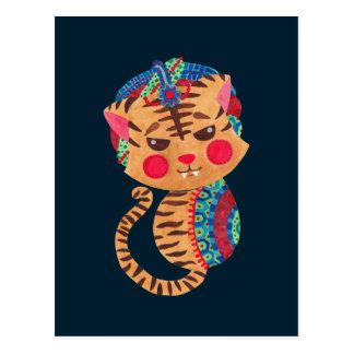 The Little Bengal Tiger Postcard