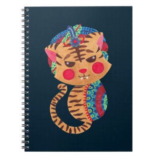 The Little Bengal Tiger Spiral Note Book