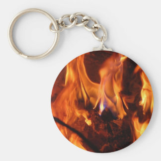 The little blue flame keychain
