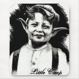 The little creep mouse pad