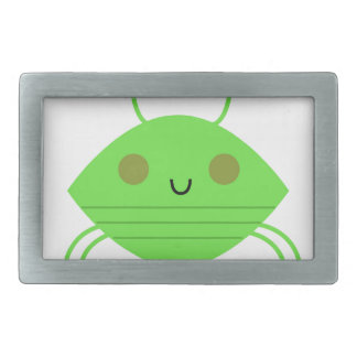 The little cute Crab on white Belt Buckles