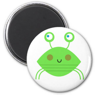 The little cute Crab on white Magnet