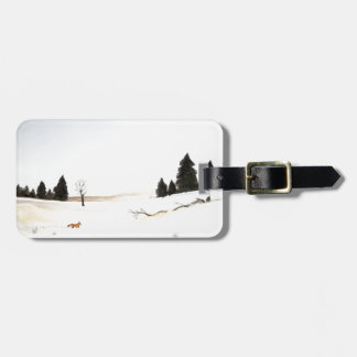The Little Fox Luggage Tag