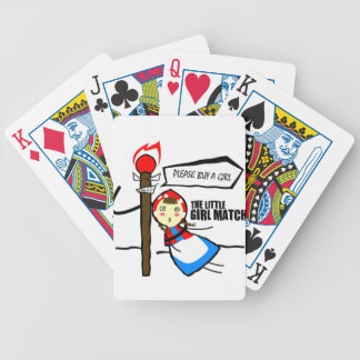 the little girl match TEST Bicycle Playing Cards