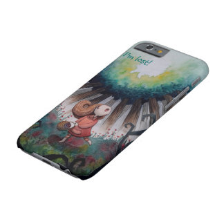 The little lost red riding hood barely there iPhone 6 case