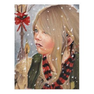 The Little Match girl Postcard