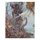 The Little Mermaid by Edmund Dulac Poster