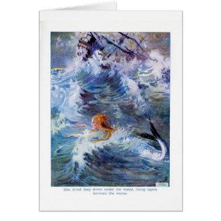 The Little Mermaid, Card