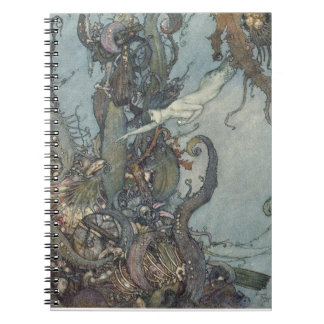The Little Mermaid Fine Art Notebook