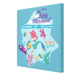 The Little Mermaid & Friends Canvas Print
