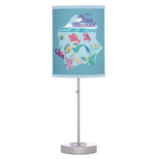 The Little Mermaid & Friends Desk Lamps