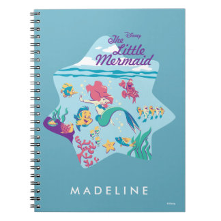 The Little Mermaid & Friends Notebooks