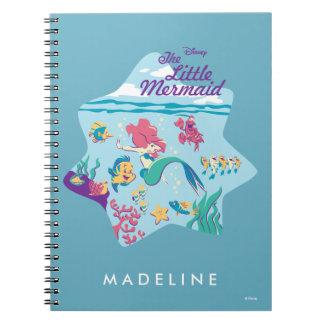 The Little Mermaid & Friends Spiral Notebooks