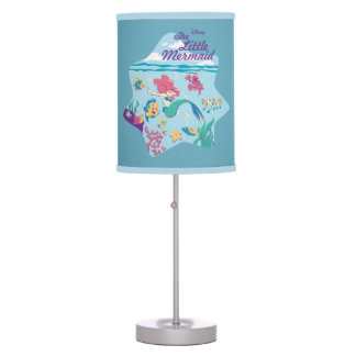 The Little Mermaid & Friends Table Lamp