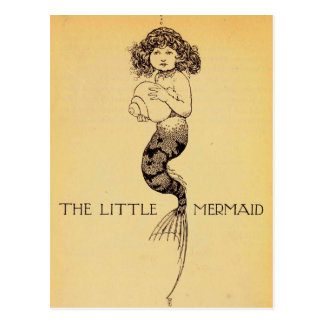 The Little Mermaid Postcard