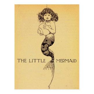 The Little Mermaid Postcard