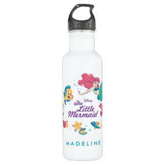 The Little Mermaid & the Sea 710 Ml Water Bottle