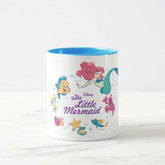 The Little Mermaid & the Sea Mug