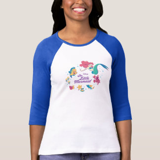 The Little Mermaid & the Sea T-Shirt