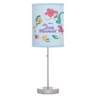 The Little Mermaid & the Sea Table Lamp