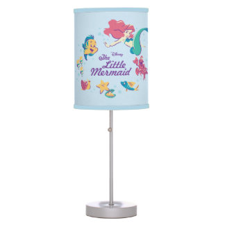 The Little Mermaid & the Sea Table Lamps