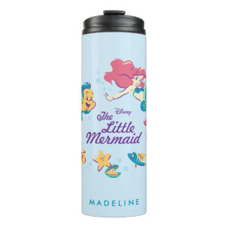 The Little Mermaid & the Sea Thermal Tumbler