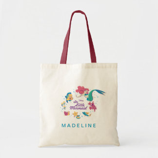 The Little Mermaid & the Sea Tote Bag