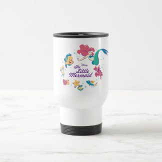 The Little Mermaid & the Sea Travel Mug