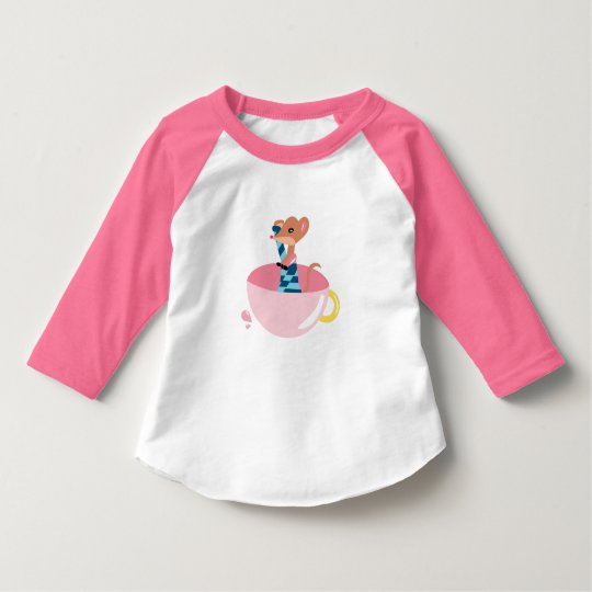 The little mouse explorer Toddler T-Shirt
