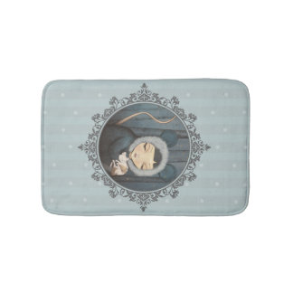 The little Mouse Princess - bath mat