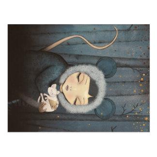 The Little Mouse Princess Postcard
