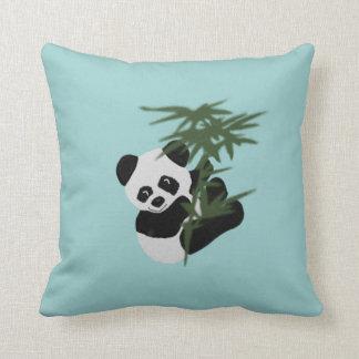 The Little Panda Throw Pillow