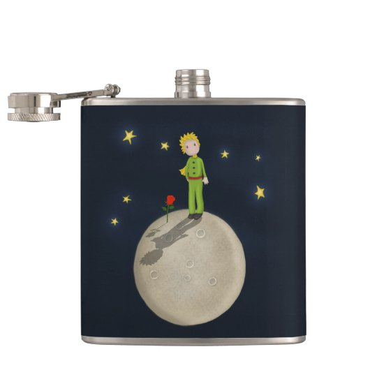 The Little Prince Hip Flask