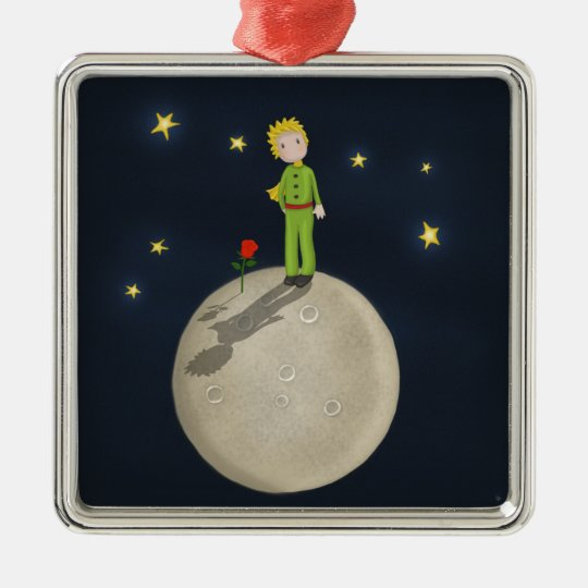 The Little Prince Metal Ornament