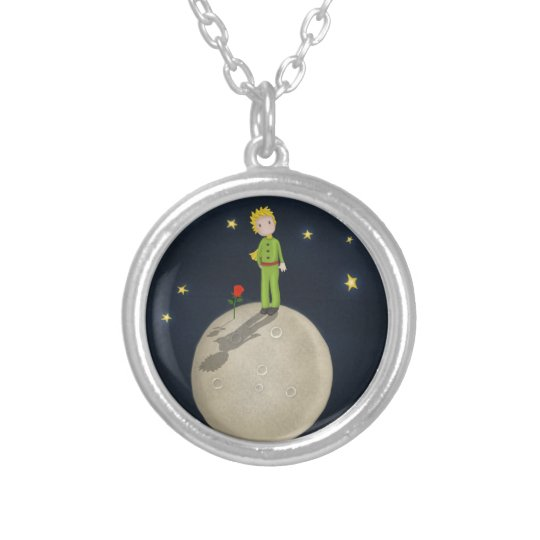 The Little Prince Silver Plated Necklace