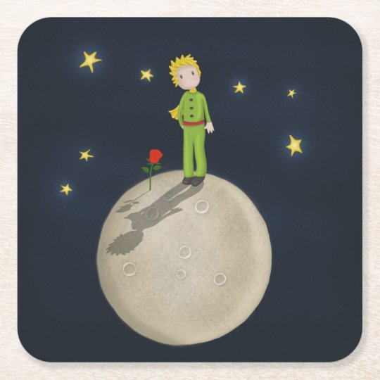 The Little Prince Square Paper Coaster
