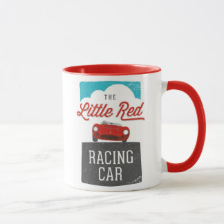 The Little Red Racing Car Double Logo Mug