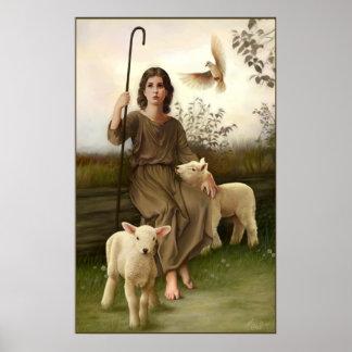 The little Shepherd Poster