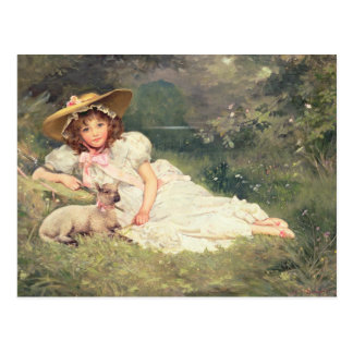 The Little Shepherdess Postcard