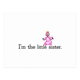 The Little Sister Postcard