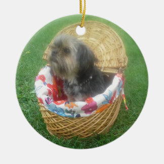 THE LITTLE TERRIER DOG ornament