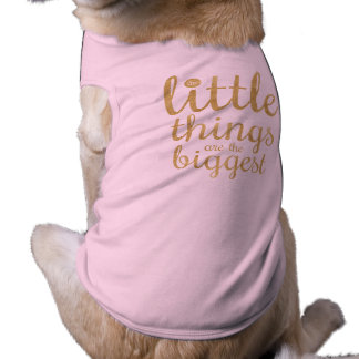 The Little Things are the Biggest | Pet Shirt