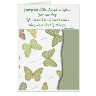 The Little Things Card
